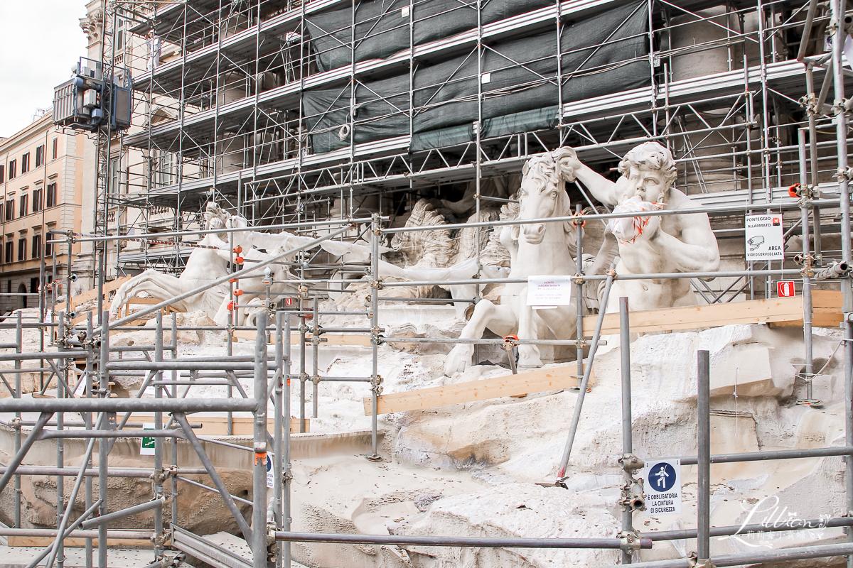 羅馬自由行, 羅馬許願池, 特萊維噴泉, Fontana di Trevi, 羅馬景點推薦, 羅馬水道, 義大利景點, 義大利自助旅行, 義大利自助遊, 義大利自助游, 羅馬許願池許願方式, 許願池故事, 羅馬