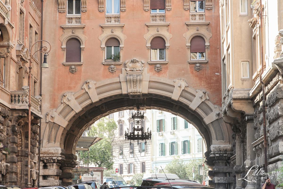 羅馬景點推薦, 新藝術主義, 新藝術風格, 仙女屋, 羅馬必遊景點, 羅馬必去, 義大利自助旅行, Coppedè社區, 羅馬