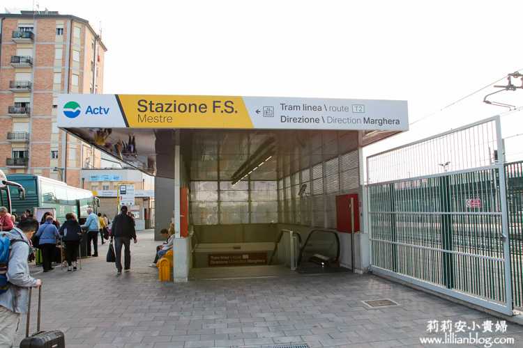 Mestre airport bus station, Venice
